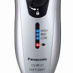 Panasonic ES-RF31 Vorderseite mit Display
