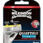 Wilkinson Sword Quattro Titanium Precision Ersatzklingen