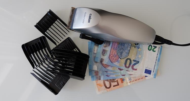 Haare schneiden mit rasierer frauen